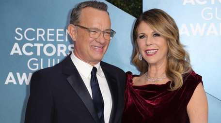 Tom Hanks and his wife, Rita Wilson, were