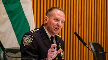 NYPD Chief Michael LiPetri, head of the department's