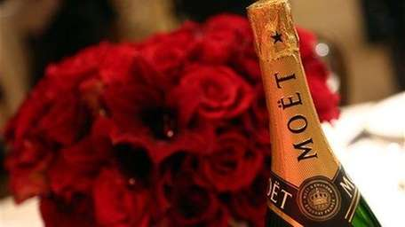 It's Champagne season. Good options include Moët &