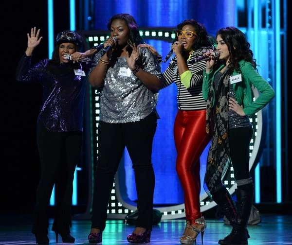 "During the ""American Idol"" Hollywood round, The Swaggettes"