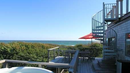 This home in Fire Island's Water Island is