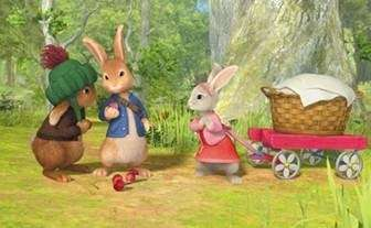 """Peter Rabbit,"" a new animated preschool TV series"