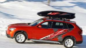 The 2013 BMW X1 has 98 cubic feet