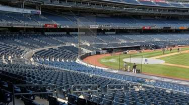 Yankee Stadium on July 5, 2020.