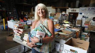 Eileen Minogue, Executive Director of Book Fairies, at