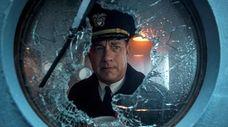 Tom Hanks plays a naval commander in