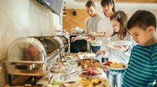 Coronavirus infection fears may soon make popular buffet-style