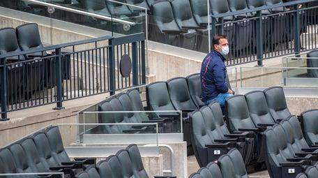 Mets general manager Brodie Van Wagenen in the