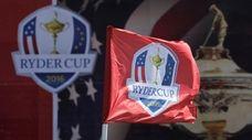 The Ryder Cup tournament at Hazeltine National Golf