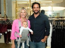 Nick Cordero with his wife, Amanda Kloots, and