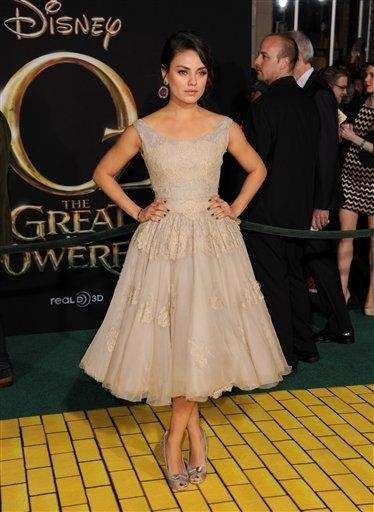 Mila Kunis arrives at the world premiere of