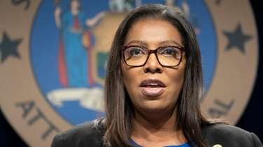 New York State Attorney General Letitia James, shown