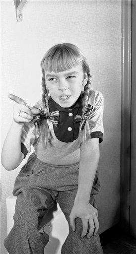 At 11, Patty McCormack played a murderer in