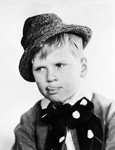 Nine-year-old Jackie Cooper, who played the title character