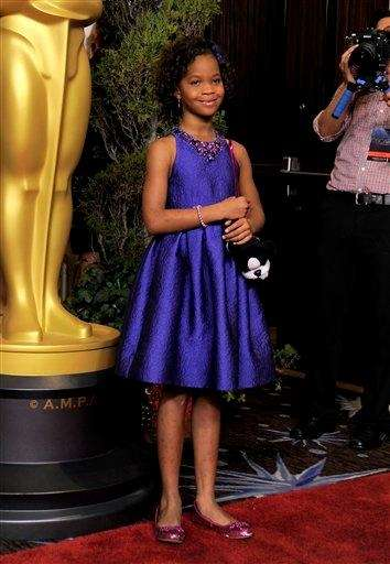 Quvenzhane Wallis was 9 when she received a