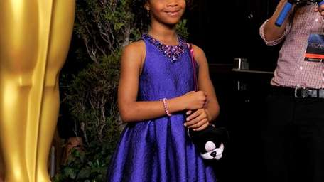 Quvenzhane Wallis, nominated for best actress in a
