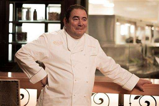 "Emeril Lagasse during a casting episode of ""Top"