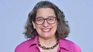 Nancy Goroff of Stony Brook, chaired the university's