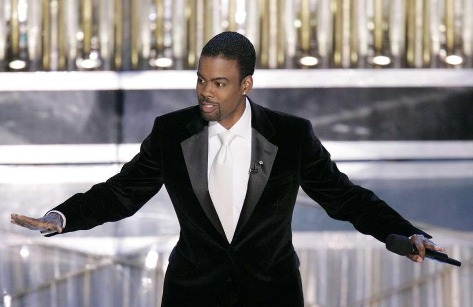 Chris Rock hosted the 77th Academy Awards in