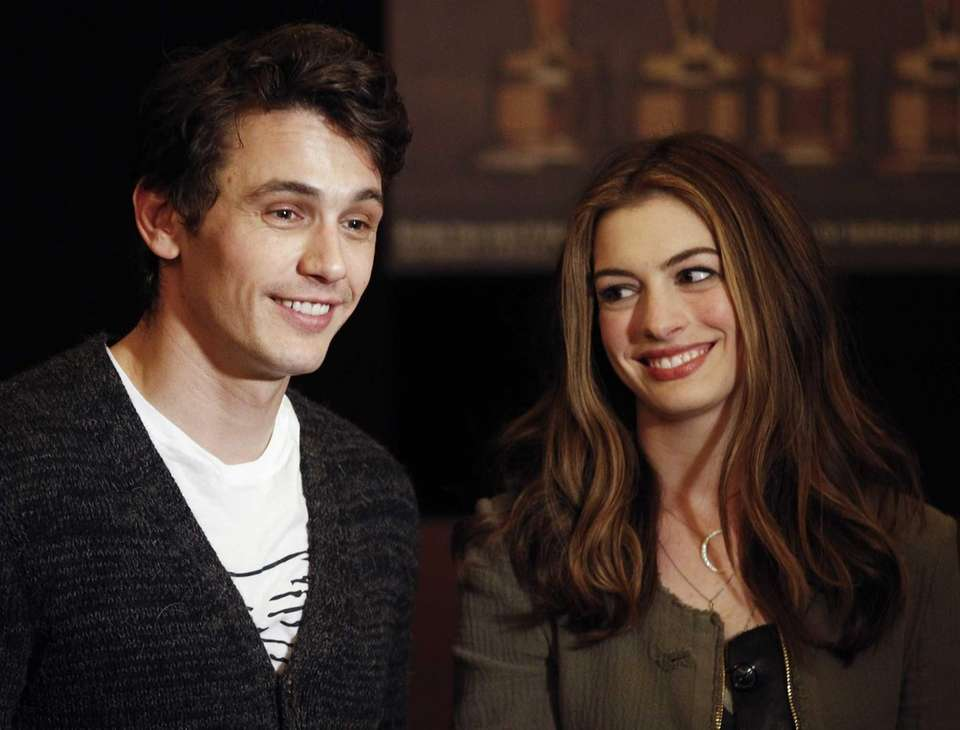 James Franco and Anne Hathaway co-hosted the 83rd