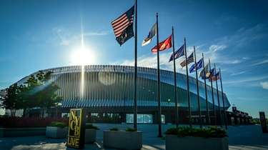 NYCB Live's Nassau Veterans Memorial Coliseum, shown on