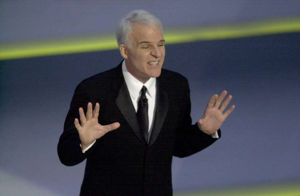 Steve Martin hosted the 73rd Academy Awards in