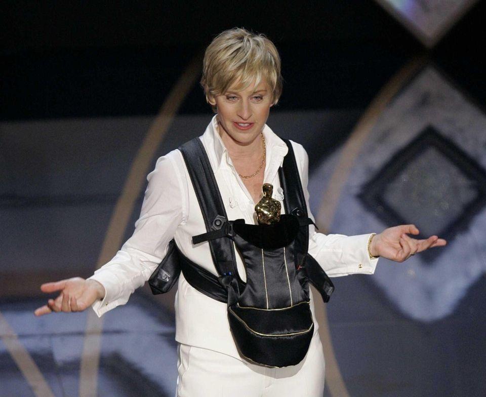 Ellen DeGeneres hosted the 79th Academy Awards in