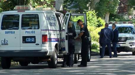 Suffolk County Police Third Squad detectives are investigating