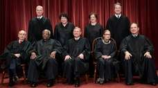 File photo of the justices of the U.S.