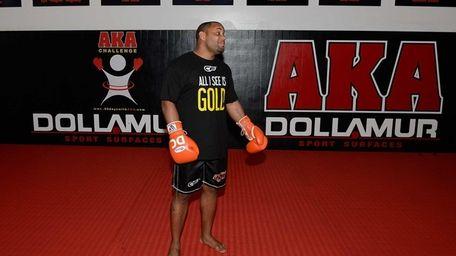 SAN JOSE, CA - FEBRUARY 15: UFC Heavyweight
