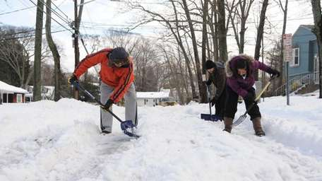 After Town of Brookhaven plows did not come,