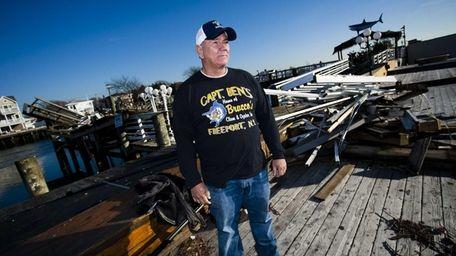 Jerry Bracco, 67, of Freeport, poses on the