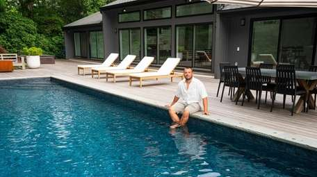 Nick Messina, of Quogue, an agent with Douglas