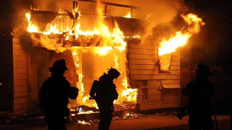 A fire broke out Saturday morning at a