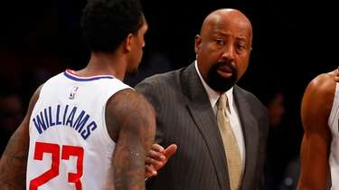 Los Angeles Clippers assistant coach Mike Woodson talks