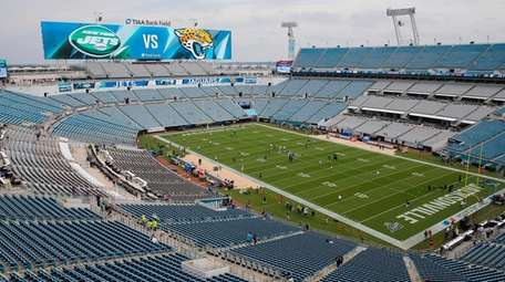 A general view of TIAA Bank Field before