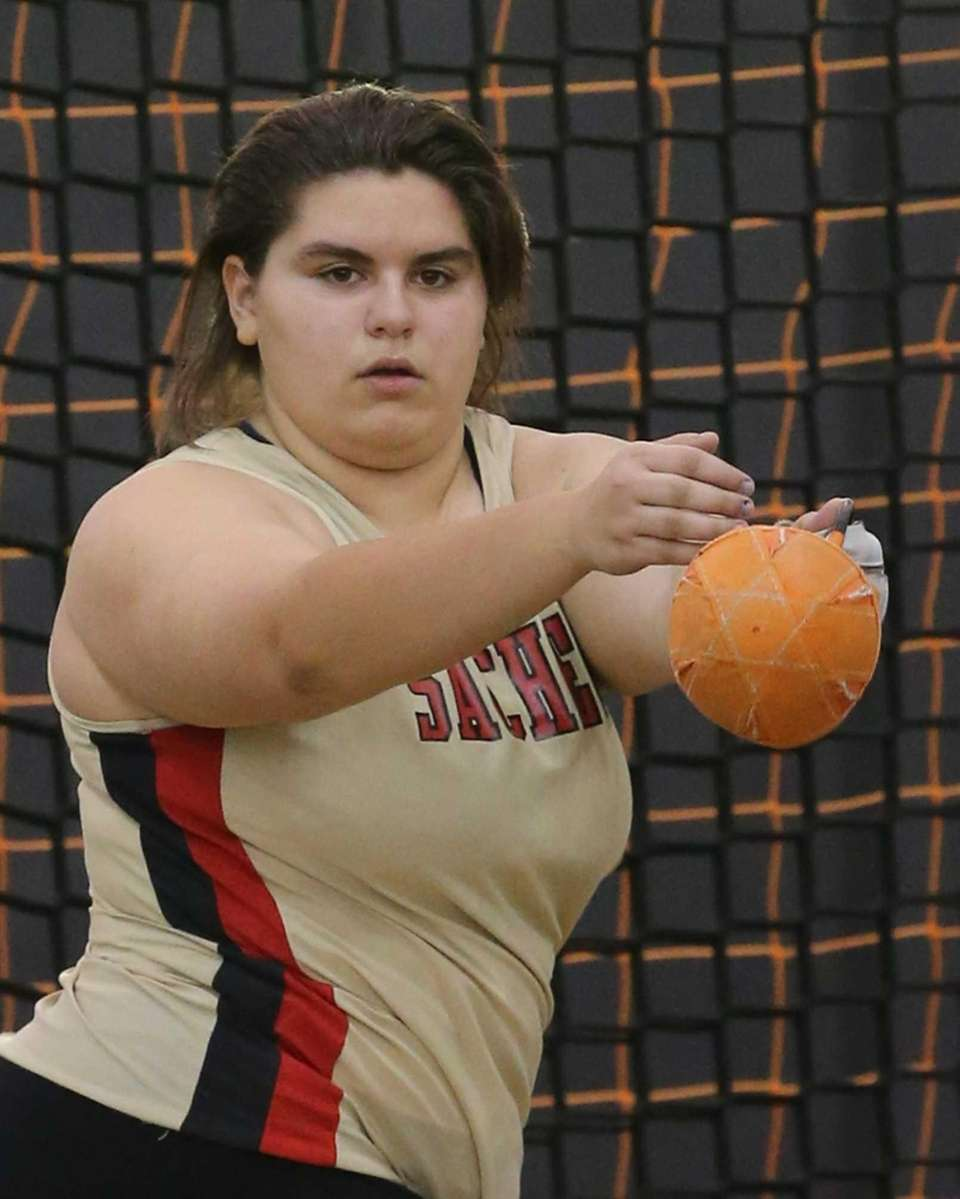 Sachem East's Gabrielle Trejo took third place with