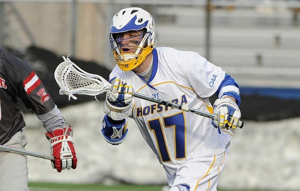 Hofstra attacker Torin Varn scored 5 goals in