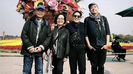 Paul, Wai Fong, Jennifer and Christopher Leung.