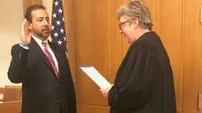 Seth D. DuCharme sworn in this afternoon as