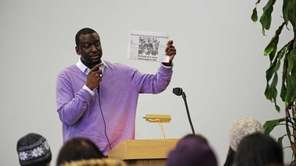 Yusef Salaam, one of the five men arrested