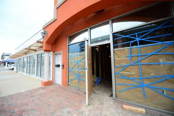 Businesses affected by Sandy along West Beech Street