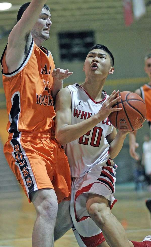 Wheatley's Joshua Hyon gets to the corner during