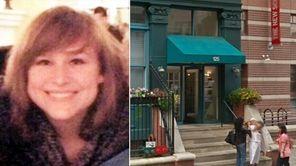 Left, Jocelyn Pascucci, a 19-year-old Stony Brook University