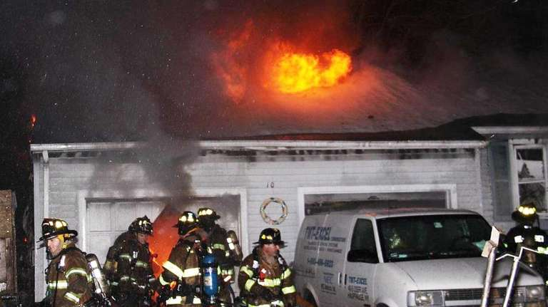 The Nesconset Fire Department responded to a house