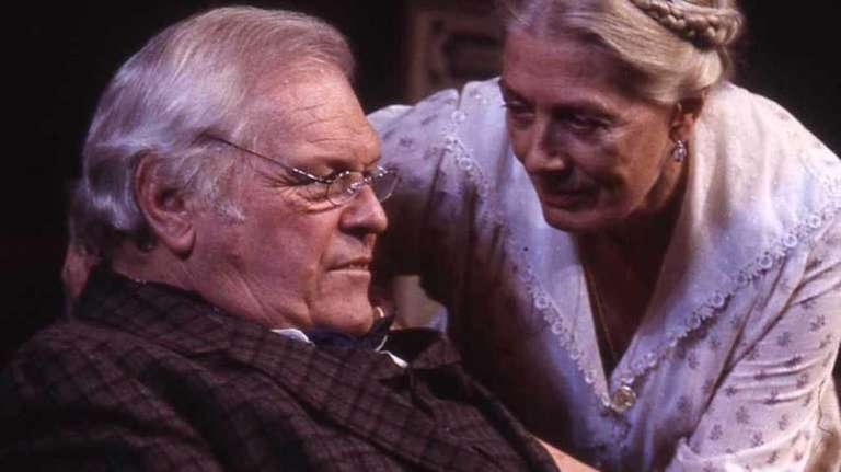 Brian Dennehy and Vanessa Redgrave in a scene