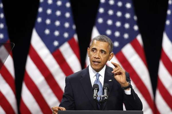President Barack Obama speaks about immigration reform at