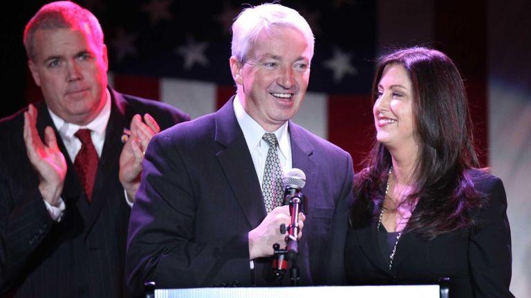 Newly elected New York State senator, Philip Boyle,