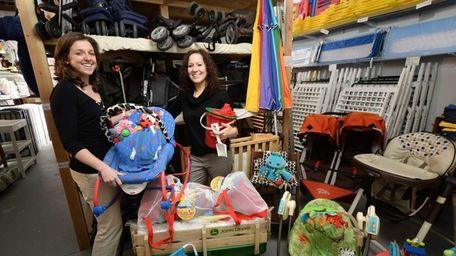 Lisa Costa, owner of Hamptons Baby Gear, works