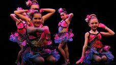 Members of Just Dance Dance Studio of Hauppauge